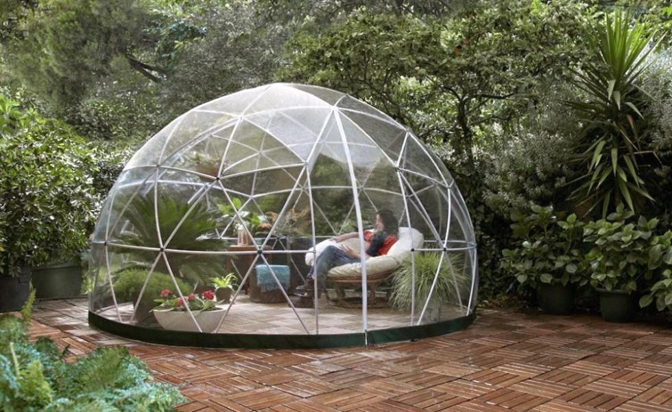 Un iglu pentru gradina