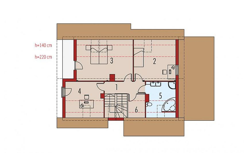 Case din caramida Brick house plans 4