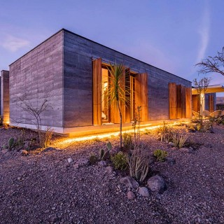 Case din lut archives case practice - The rammed earth hacienda ...
