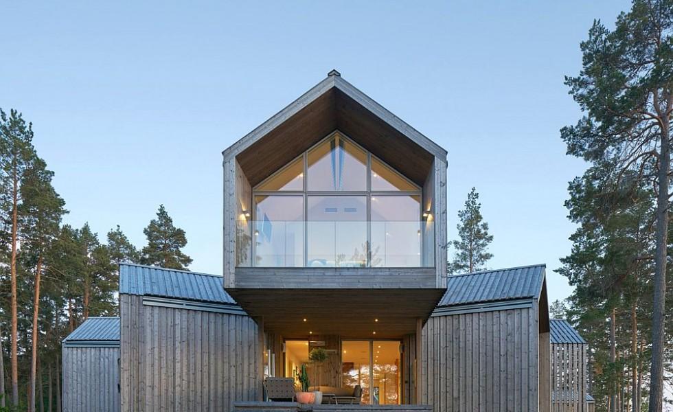 Casa in forma de stea