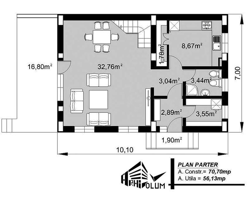 7 meter wide house plans generous architecture houz buzz - Meter wide house plans ...