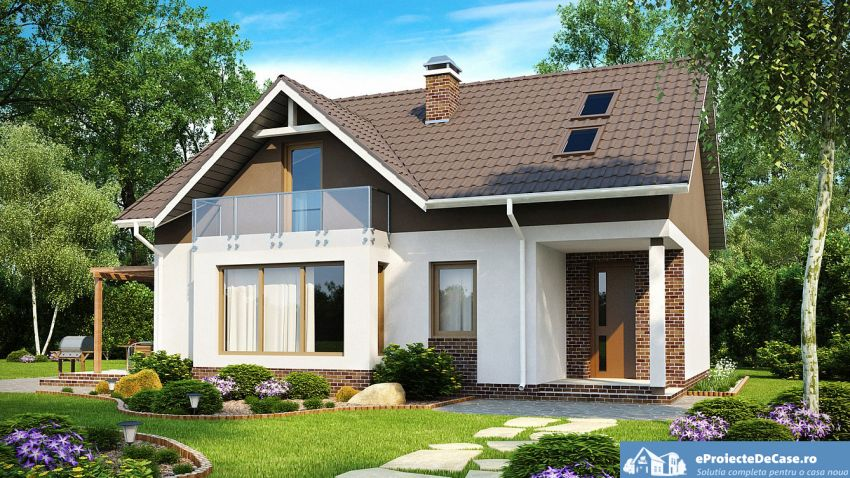6 Medium Sized Two Story House Plans