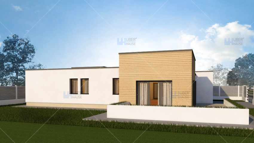 case mici, cu garaj integrat Small houses with built-in garage 3