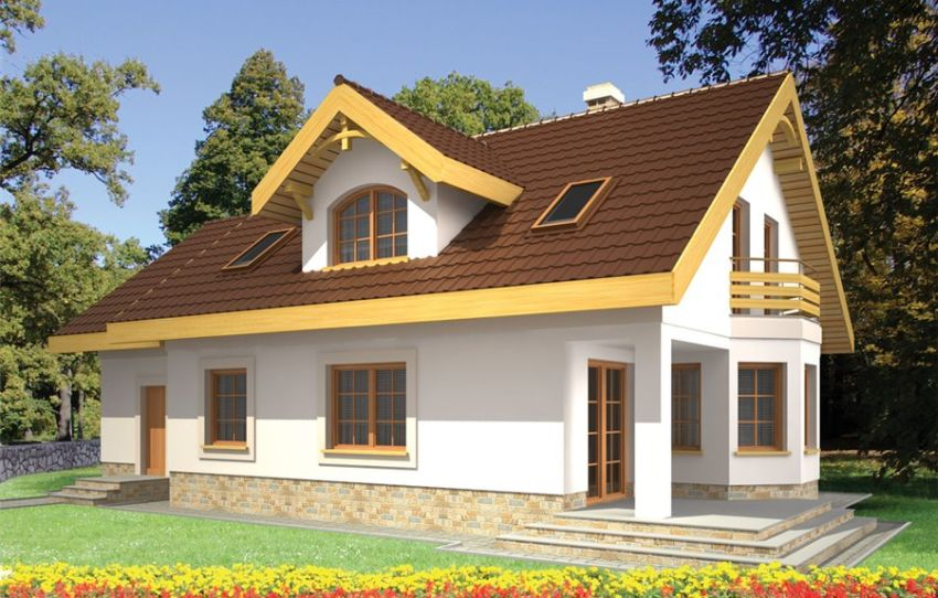 case mici cu lucarne Small dormer house plans 2