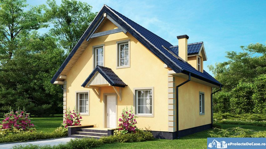 Small dormer house plans elegant design houz buzz Dormer house plans