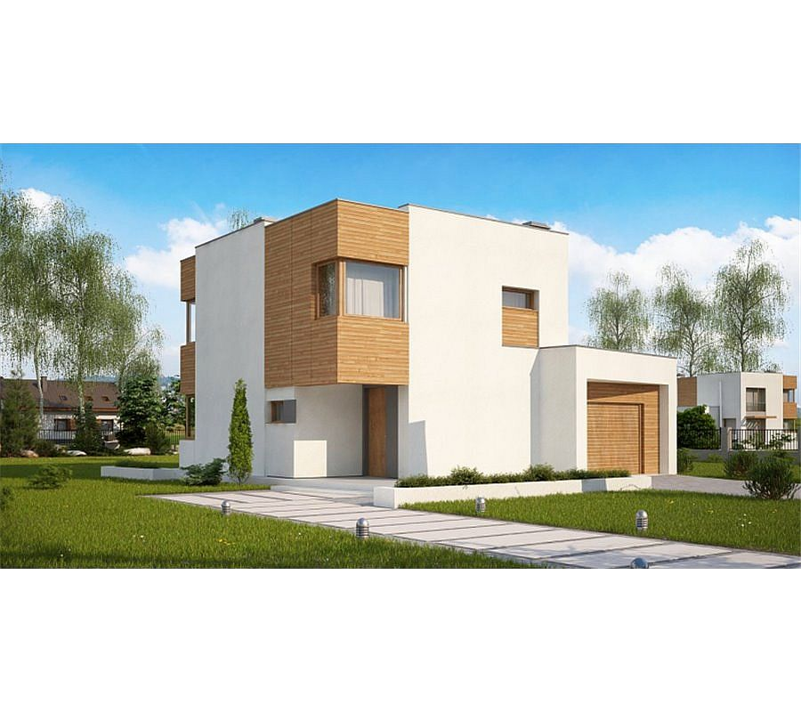 case moderne cu etaj Modern two story houses 2