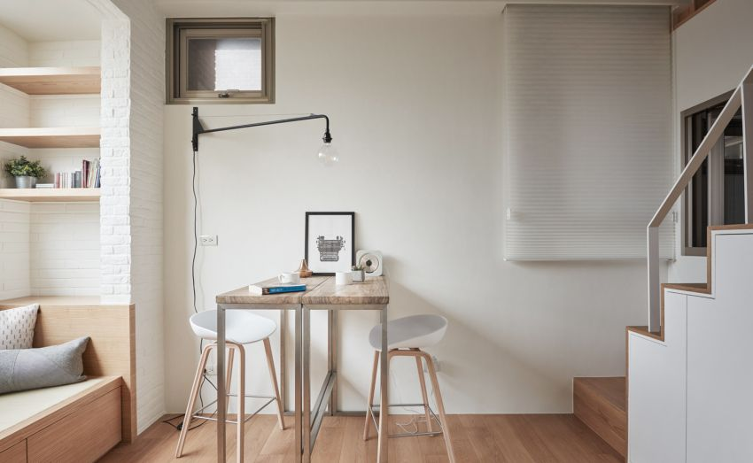 Interior Design On 22 Square Meters Solutions From Taiwan