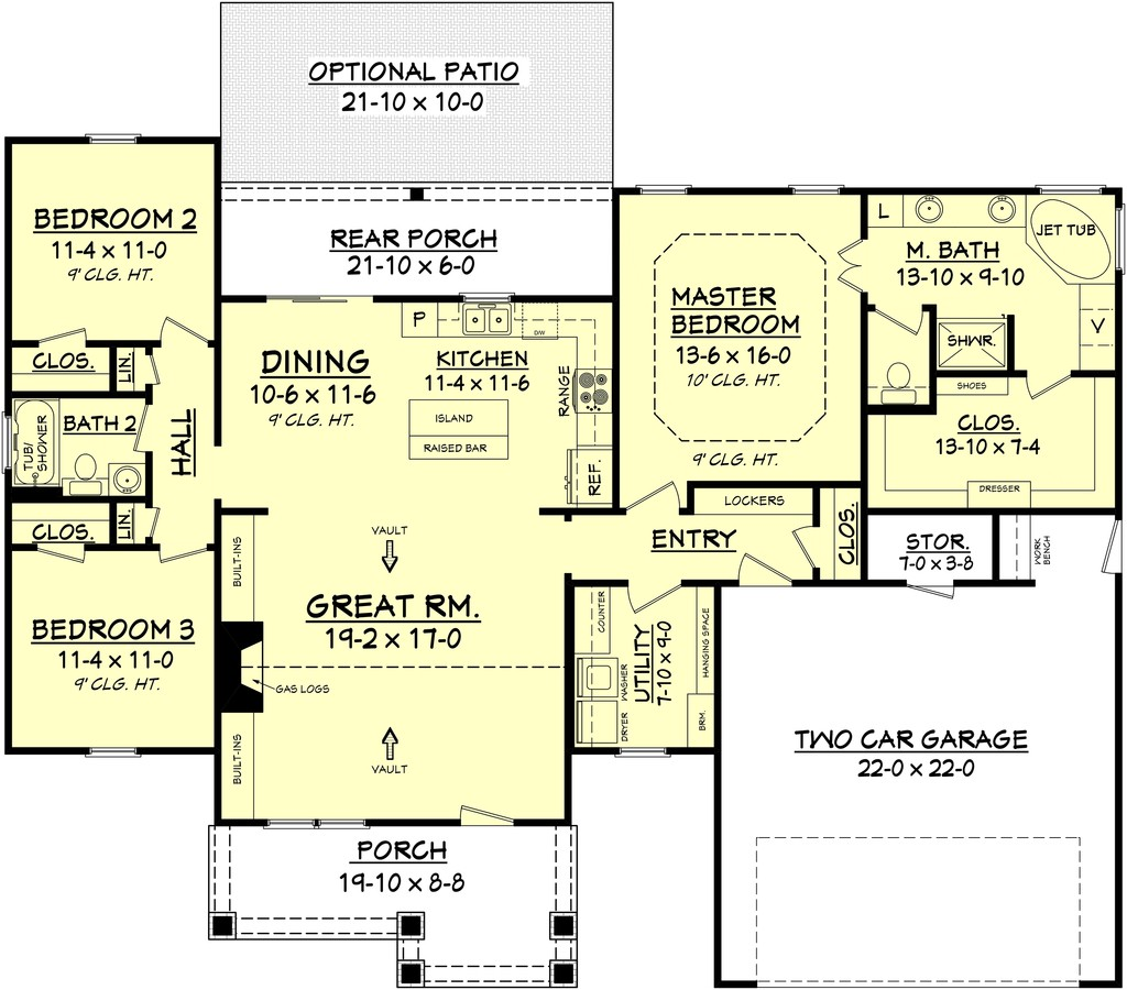 Chief Architect: 1675 Presentation plan.layout