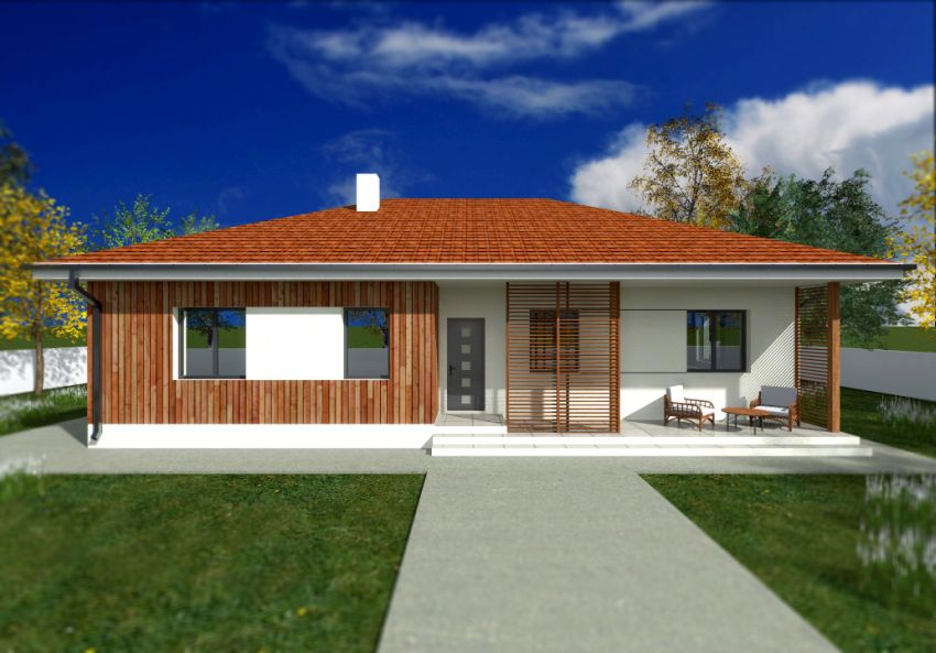 Swell Single Floor Houses With Exterior Wood Finishes Houz Buzz Largest Home Design Picture Inspirations Pitcheantrous