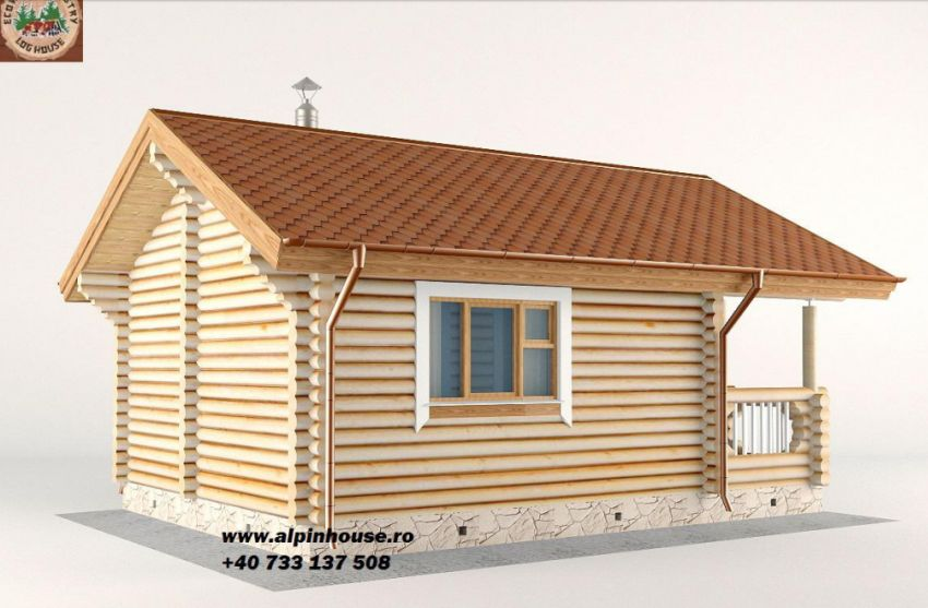 case ieftine din busteni cheap log houses 2