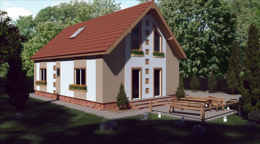 case medii pe doua nivele Medium sized two story house plans 18