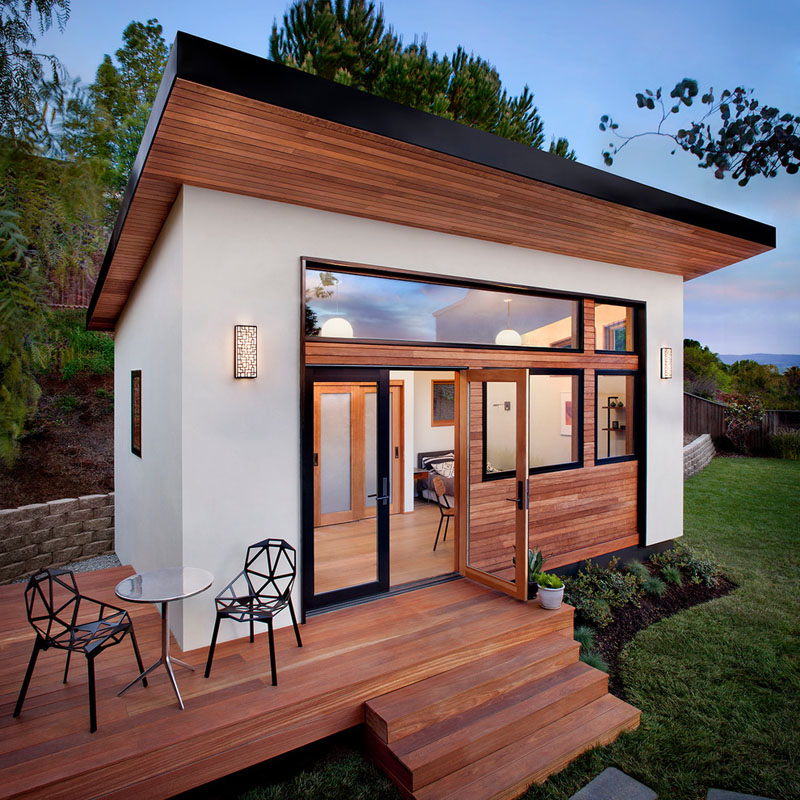 The tiny house on 24 square meters