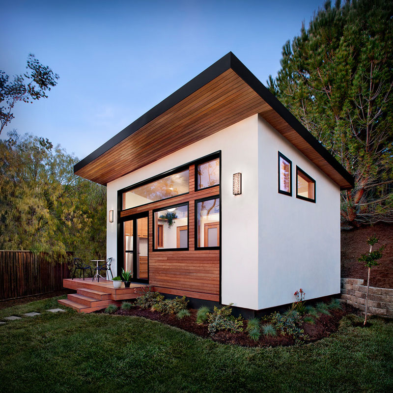 The tiny house on 24 square meters houz buzz - Small housessquare meters ...