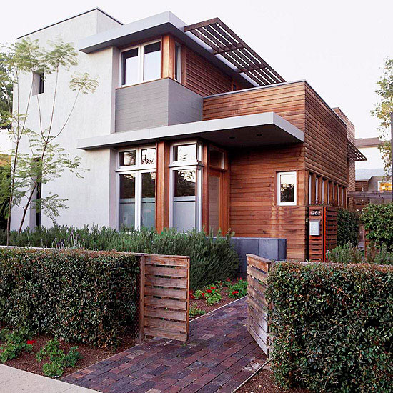 Modern House Exterior Materials: 10 Exterior Color Palettes