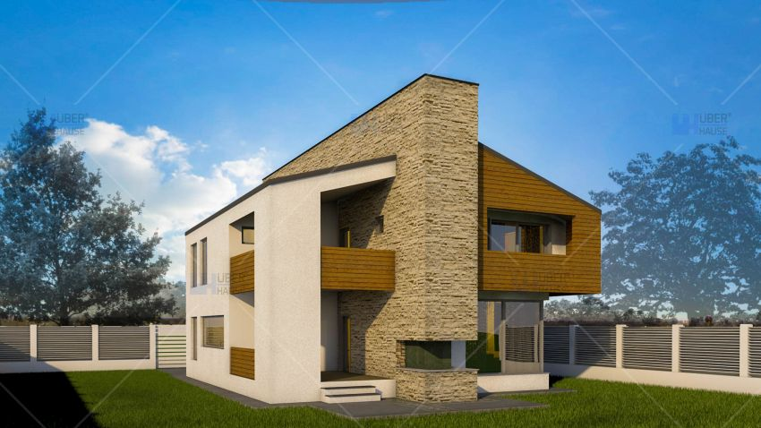proiecte de case cu semineu House plans with fireplaces 1