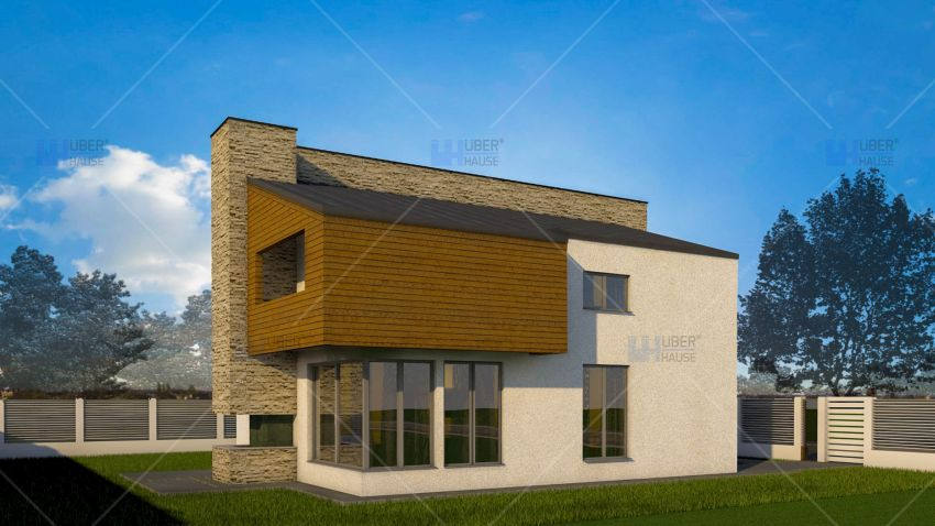 proiecte de case cu semineu House plans with fireplaces 3