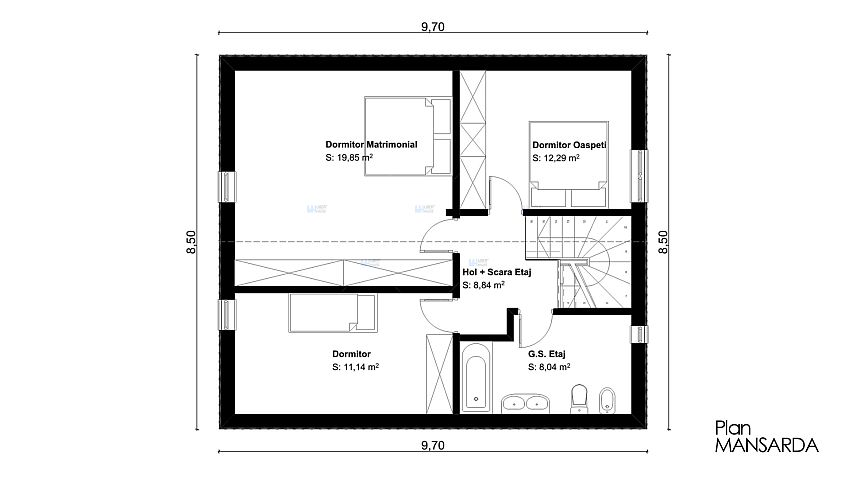 120 square meters house plan house and home design - Houses undersquare meters ...