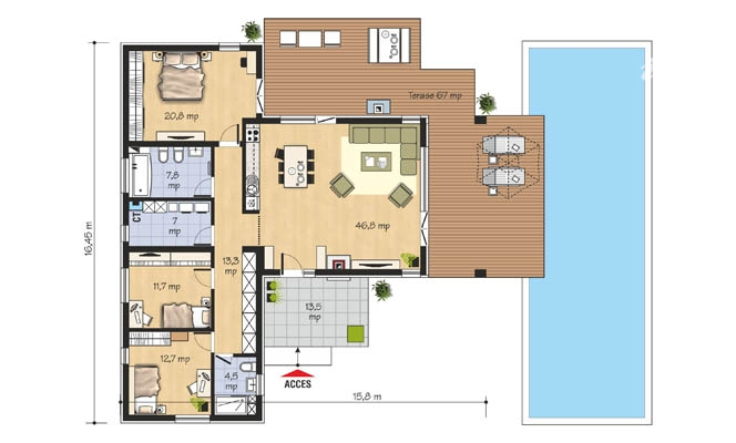 proiecte-de-case-cu-parter-si-trei-dormitoare-three-bedroom-single-story-house-plans-2