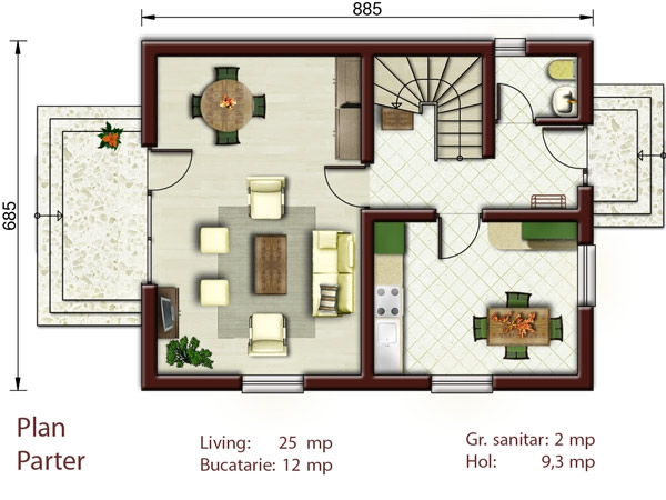 Three Bedroom House Plans Family Oriented Houz Buzz