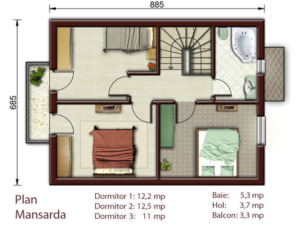 Best House Plans other information Proiecte De Case Pentru O Familie Cu Patru Membri Best House Plans For A Family Of