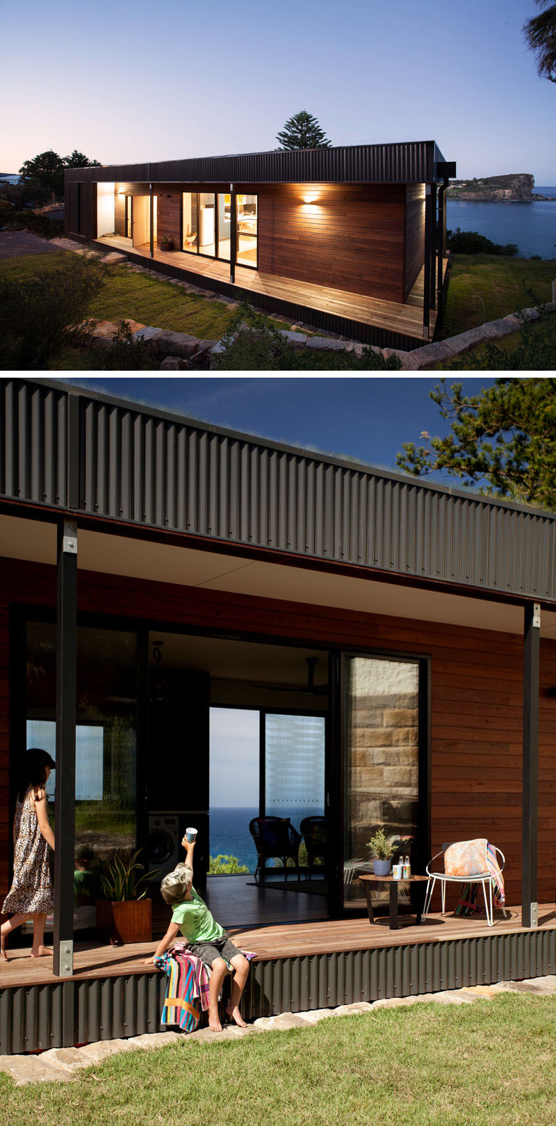 The Green Roof Prefabricated House Aesthetic And