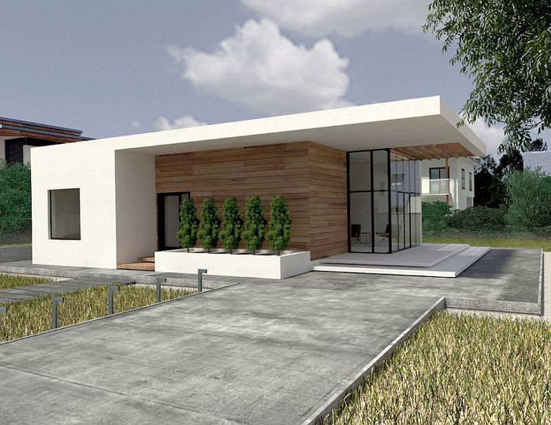case mici cu doua dormitoare Small two bedroom house plans 1