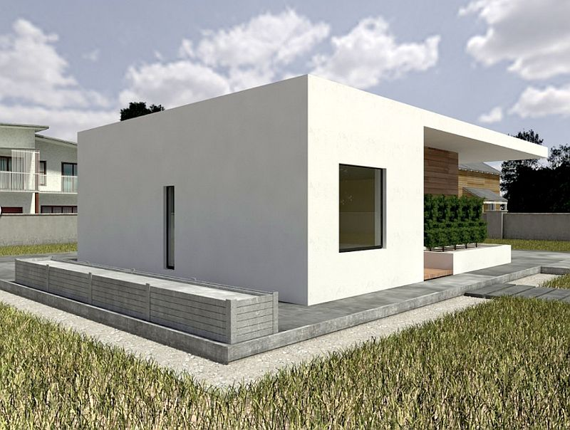 case mici cu doua dormitoare Small two bedroom house plans 3