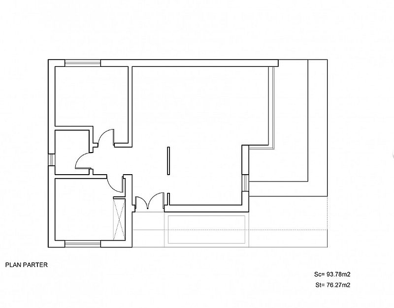case mici cu doua dormitoare Small two bedroom house plans 4