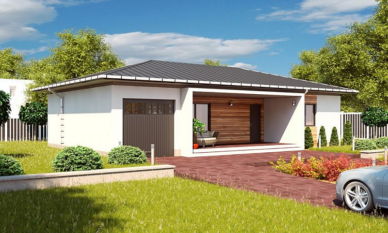 case mici cu doua dormitoare Small two bedroom house plans 5