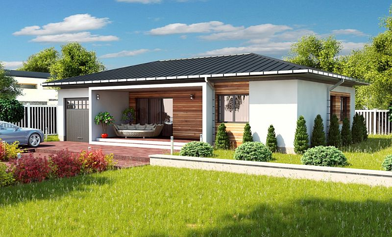 case mici cu doua dormitoare Small two bedroom house plans 6