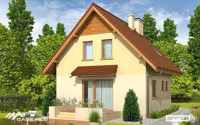 3 small houses under 100 square meters houz buzz - Houses atticsquare meters ...