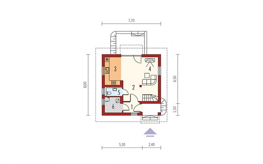 3 small houses under 100 square meters houz buzz - Small housessquare meters ...