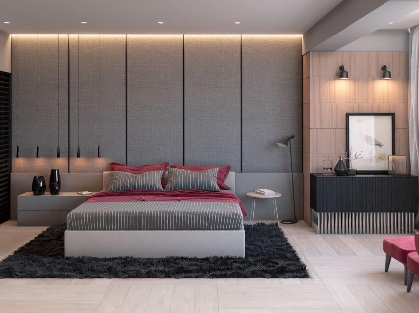 dormitoare in gri grey bedrooms 1