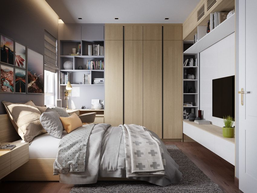 dormitoare in gri grey bedrooms 10
