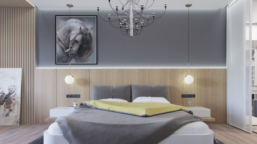 dormitoare in gri grey bedrooms 3