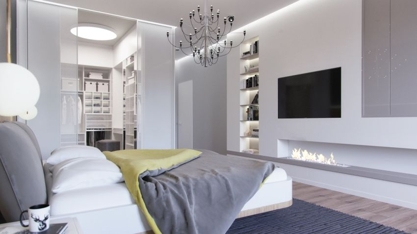 dormitoare in gri grey bedrooms 4