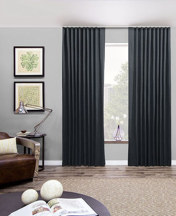 Bedroom Curtains bedroom curtains and drapes : 15 Modern Bedroom Curtains And Drapes - Houz Buzz