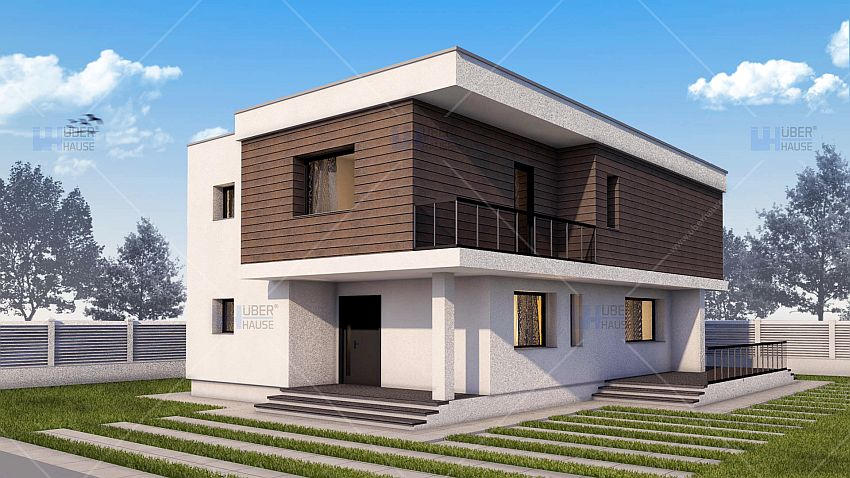 Modern two story house plans a distinct architecture for Casa moderne