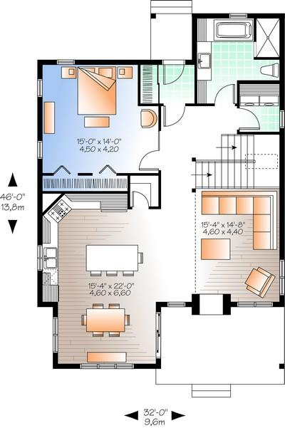 loft house plans for young people