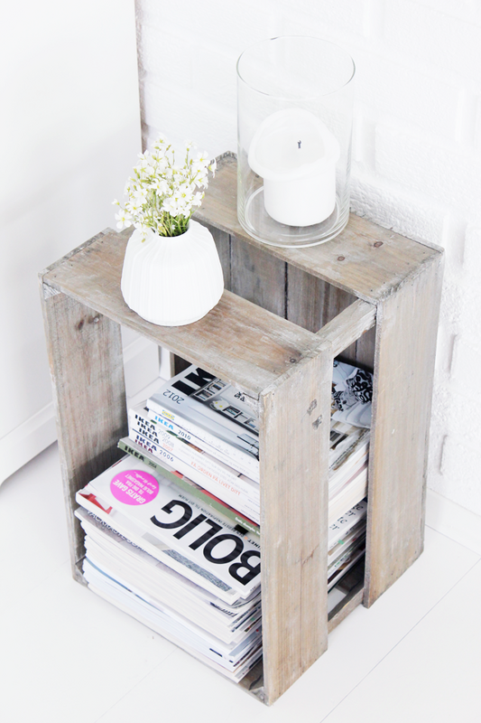 creative ways to store your magazines