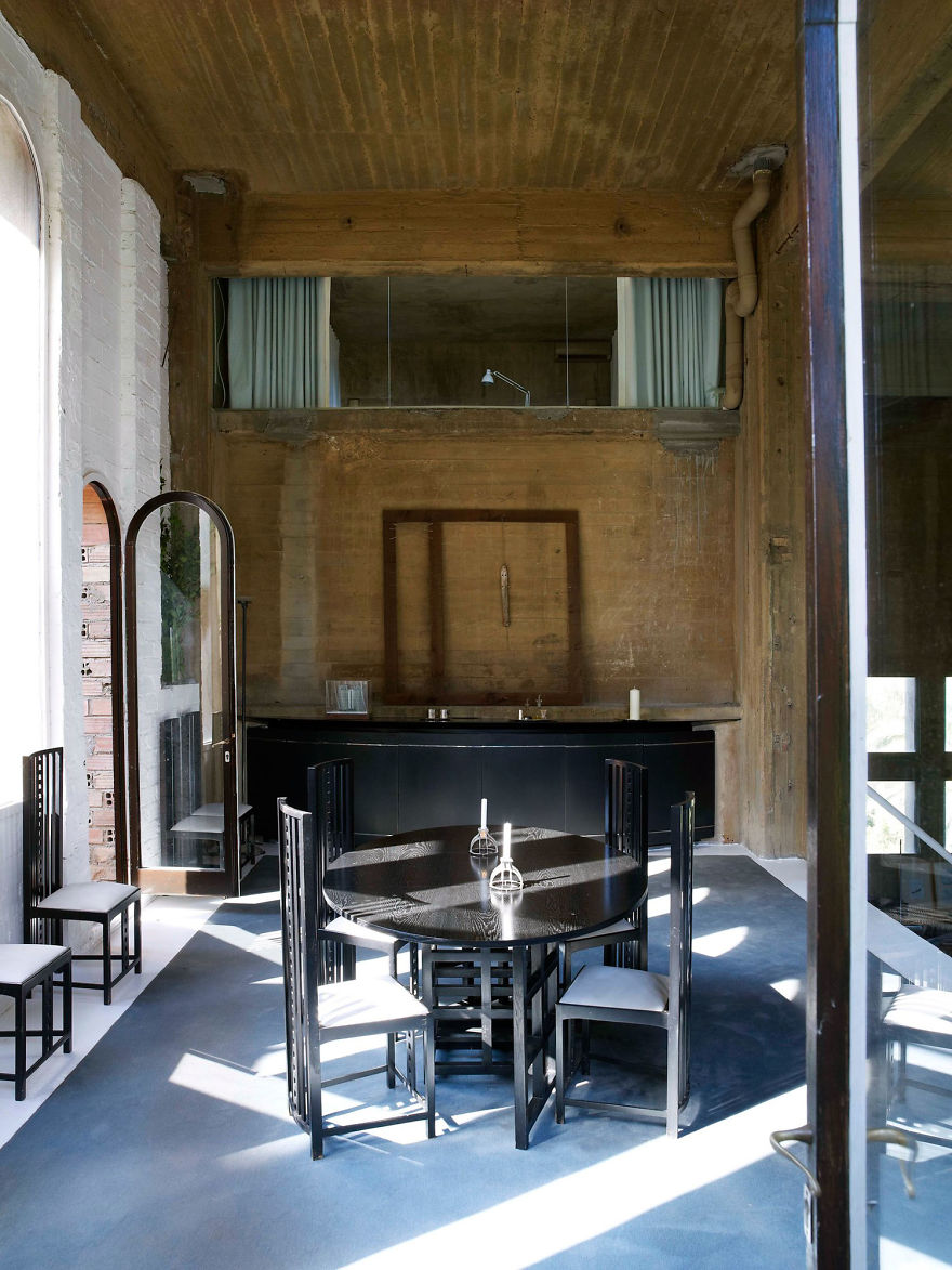 old cement factory turned into a home