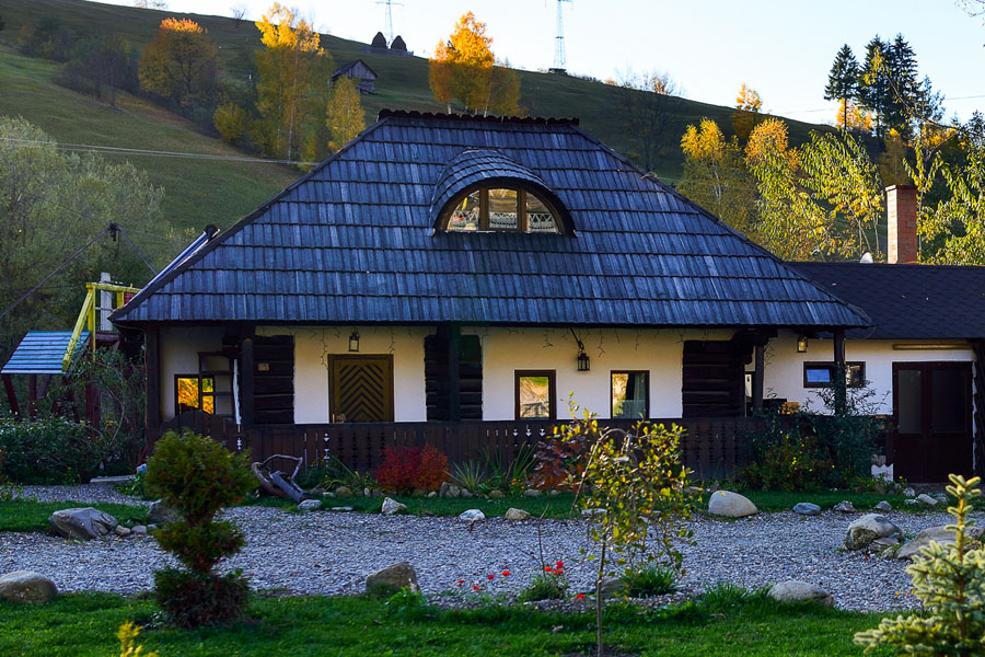 Houses in Bucovina