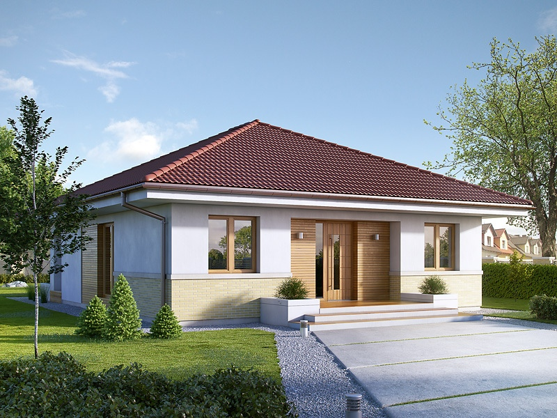 Hip Roof House Plans Small And Medium Size Homes With Up To 5 Bedrooms
