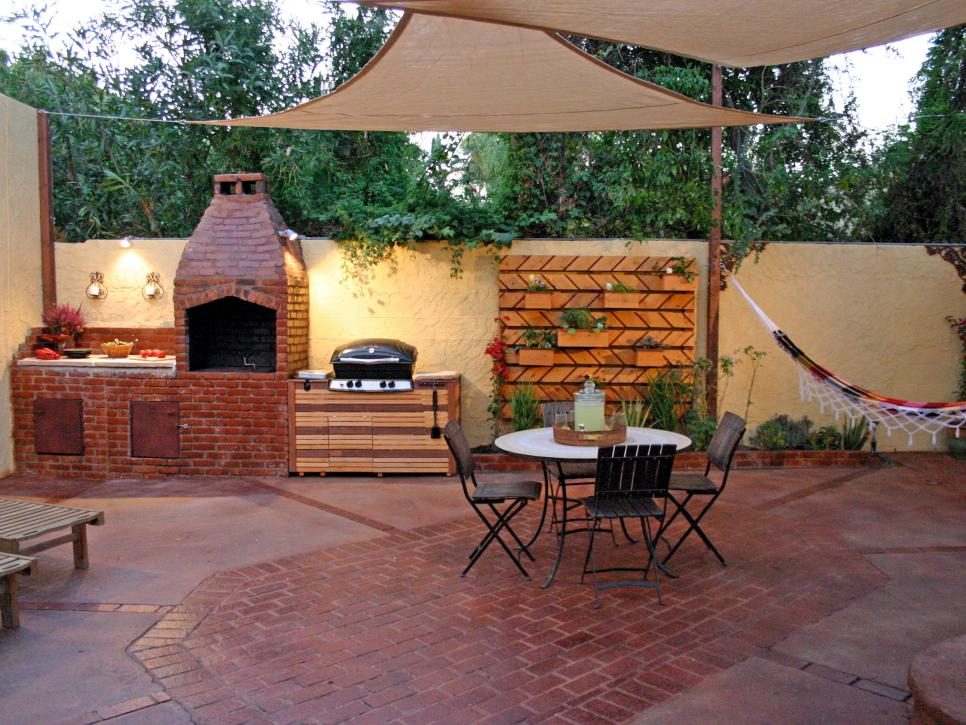 designing a barbecue spot