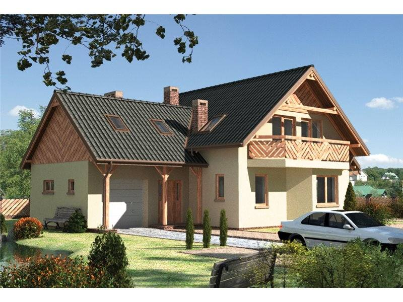 houses with attic and enclosed kitchen