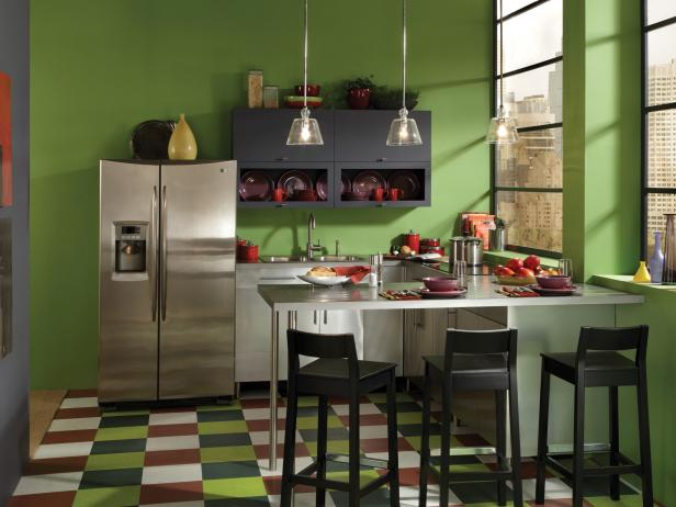 suitable colors for the kitchen