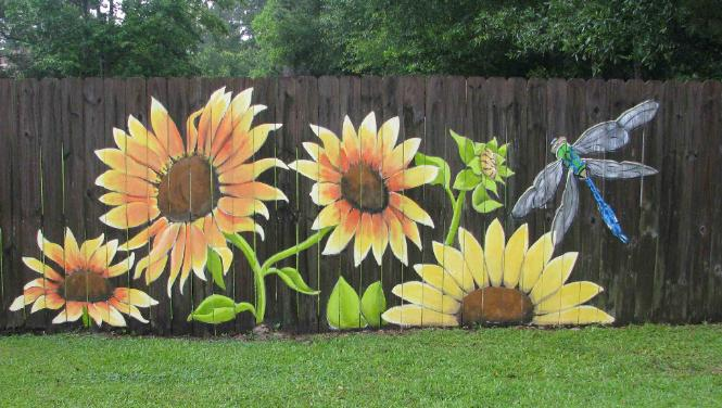 advice and ideas for painting your fence