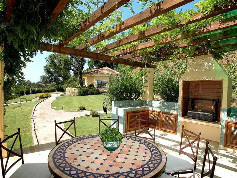 Mediterranean terrace design ideas