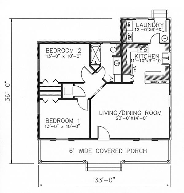 house plans under 1,000 square feet