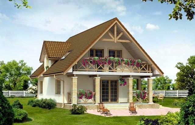Exemple de case pitoresti cu mansarda locuinte practice for Modele de case